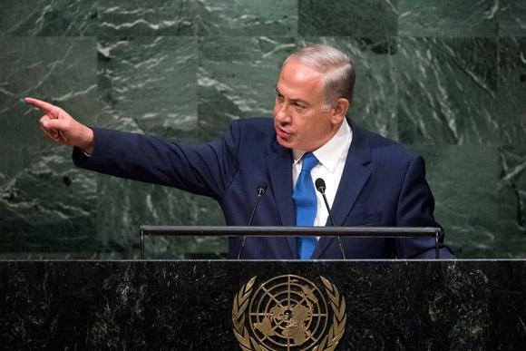 Presidente de Israel en Naciones Unidas. Foto: ONU / Cia Pak
