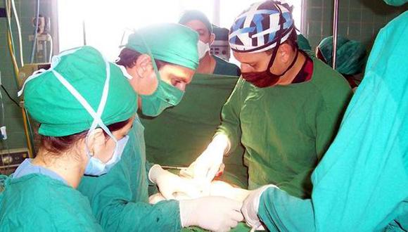 Trasplante de órganos en Cuba. Foto tomada de Radio Rebelde