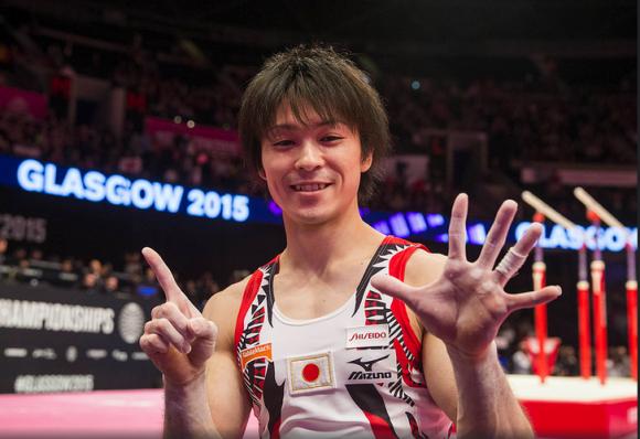 El japonés Kohei Uchimura, toda una leyenda, 6 veces campeón mundial. Foto: Sitio oficial del evento