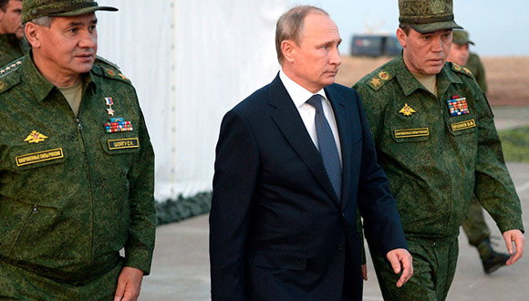 Las potencias occidentales están impresionadas por la campaña militar rusa en Siria. Foto: AFP