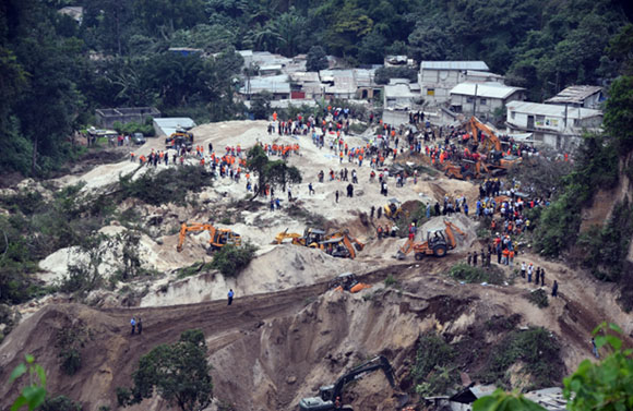 Lugar donde ocurrió el desastre. Foto: oemlinea.com