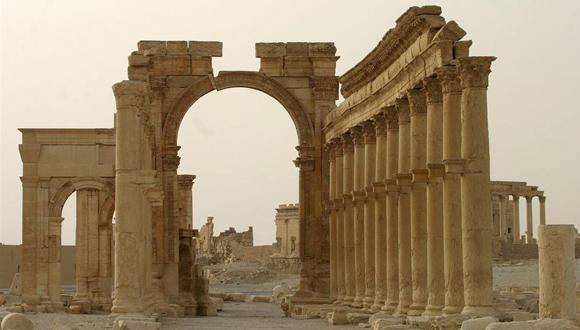 Arco de Triunfo de Palmira. Foto: Europa Press.