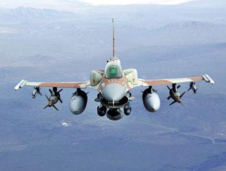 Avión Caza F-16.