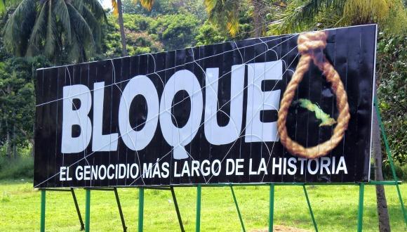 La sociedad civil cubana reiteró su rechazo al bloqueo.
