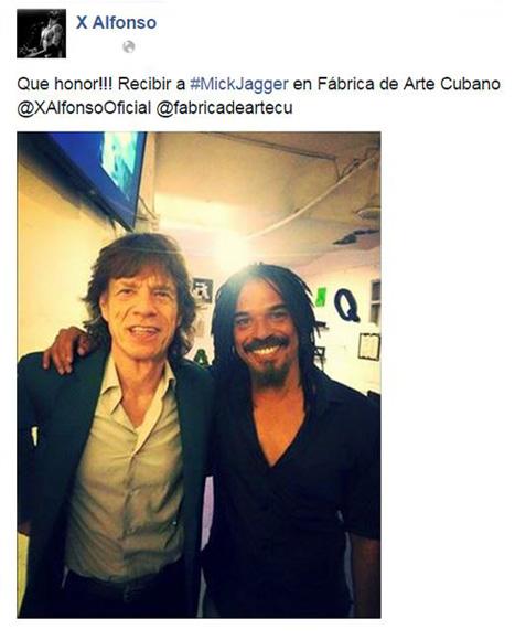 En la Fábrica de Arte Cubano con X Alfonso.