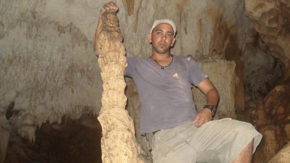 Cueva en Guantánamo. Foto Chenly