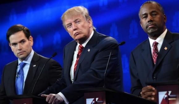 Los candidatos arreciaron en sus críticas a Trump. Foto tomada de El Mundo