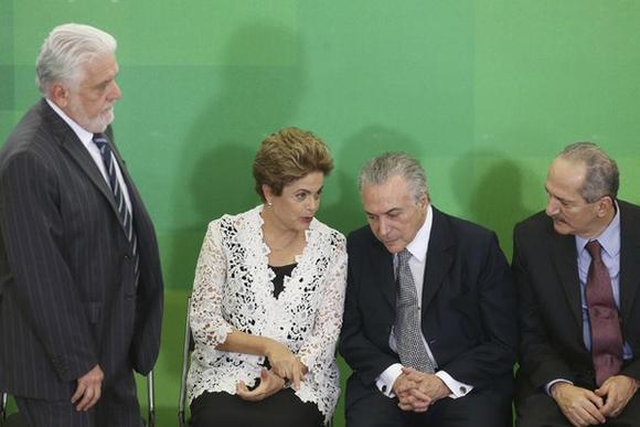 Dilma em toma de potestad