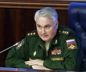 El jefe de la principal gestión operativa del Estado Mayor General ruso, el coronel general Andrei Kartapolov. Foto: RIA NOVOSTI.