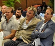 Encuentro entre empresas del Estado de Ohio de los Estados Unidos de América y autoridades cubanas para identificar oportunidades de negocios, en el hotel Meliá Cohíba, en La Habana.  FOTO/Marcelino VAZQUEZ HERNANDEZ/