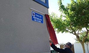 En la provincia de Albacete, una calle llevará el nombre de Cuba. Foto: PL/Miguel Lozano