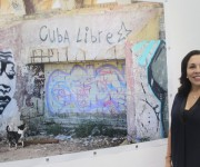 Transgrediendo Fronteras, muestra fotográfica de la artista cubana Flor Mayoral. Foto: Maribel Acosta Damas