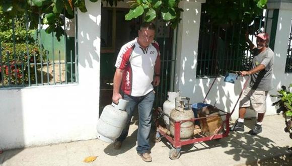 Unión Cubapetróleo informa sobre ampliación de los ciclos de venta de gas licuado