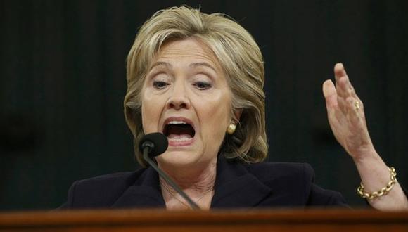 """""""Nuestros diplomáticos deben continuar representándonos en los sitios peligrosos"""", dijo Hillary Clinton. Foto: Reuters."""