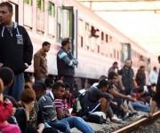 Los inmigrantes en Croacia, no podrán tomar trenes hacia Eslovenia. Foto: AFP