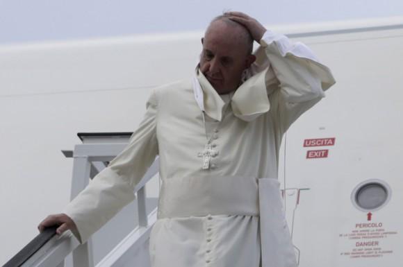 Francisco a su llegada a La Habana.  Foto: Ismael Francisco/ Cubadebate