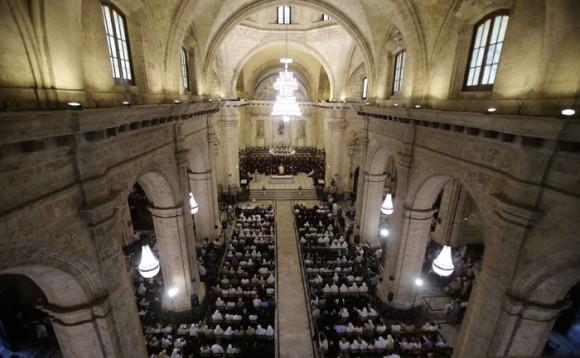 La Catedral de La Habana.  Foto: Ismael Francisco/ Cubadebate