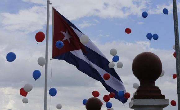 Loma de la Cruz, desde donde Francisco bendijo a Holguín.  Foto: Ismael Francisco/ Cubadebate