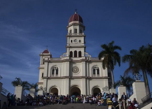 La Basílica menor del Santuario de la Virgen de la Caridad del Cobre. Foto: Ismael Francisco/ Cubadebate