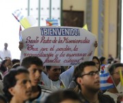 Bienvenido Francisco. Foto: Ismael Francisco/ Cubadebate