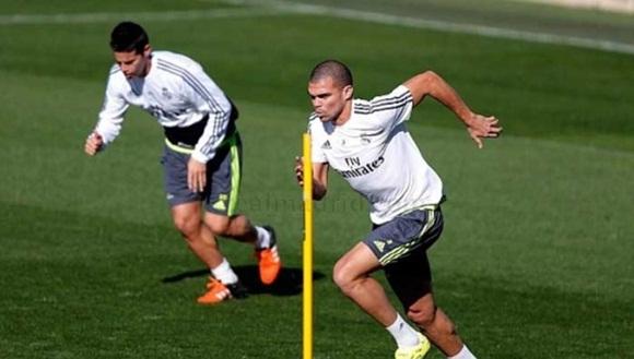 Entrenamientos del Real Madrid. Foto: Marca.