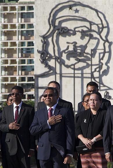 Al centro, Rui maría de Araujo, primer ministro de Timor-Leste. Foto: Ismael Francisco/Cubadebate