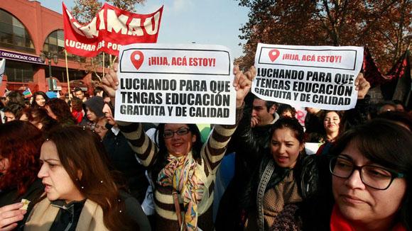 Marcha. Foto: Agencia Uno