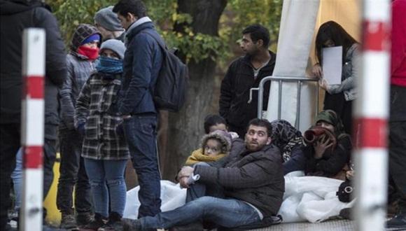 El sur de Alemania recibió 15.000 refugiados desde Austria el fin de semana. Foto: Subdiario.