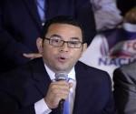 Jimmy Morales, nuevo presidente de Guatemala.