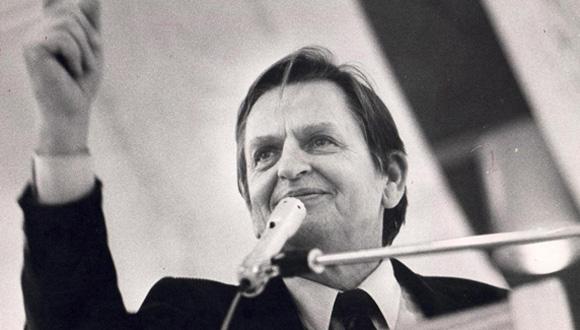Olof Palme, Suecia (1927-1986)  Foto Odd Wentzel/Dagbladet
