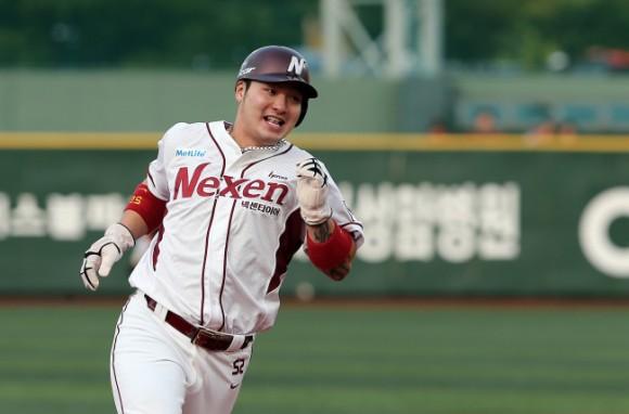 La estrella coreana Park Byung-ho encabeza los 28 peloteros de su país al Premier 12. Foto: http://www.koreatimesus.com