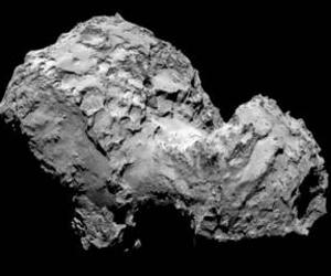 El oxígeno es el elemento más común que rodea al cometa después del vapor de agua, el monóxido de carbono y el dióxido de carbono. Foto: ESA.