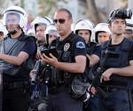 Policía turca. Foto: EFE.