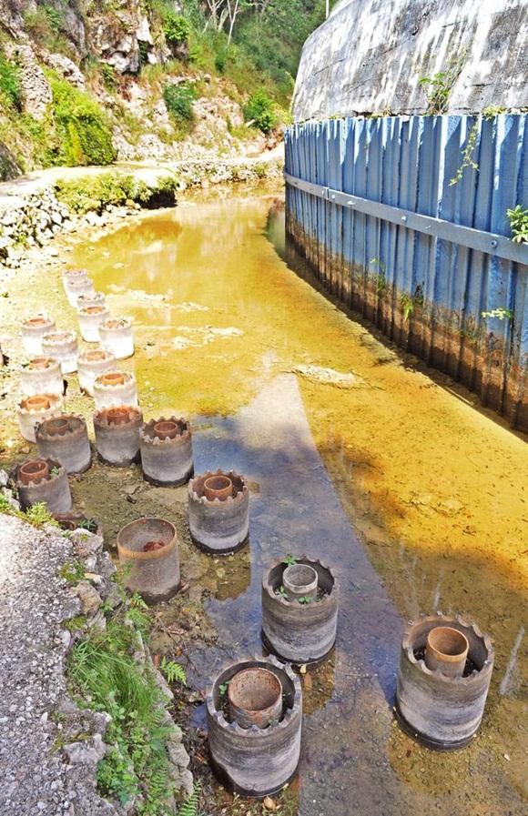 La Taza Chica de Vento tiene todos sus manantiales secos. Foto: Jose M. Correa. Granma.
