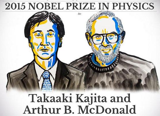 Takaaki Kajita y Arthur B. McDonald son los ganadores del Premio Nobel de Física 2015.