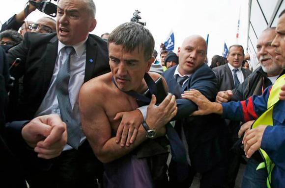 Vicepresidente y director de Recursos Humanos de Air France, Xavier Broseta. Foto: Reuters.