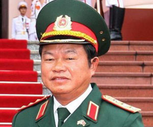 Viceministro de Defensa de Vietnam, Do Ba Ty.