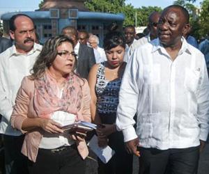 Vicepresidente sudafricano agradece ayuda de Cuba