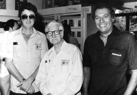Wichy, José Zacarías Tallet (Matanzas, 1893-La Habana, 1989) y Víctor Casaus.