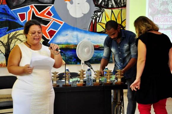 Comienzo del Programa, se nombra los concursantes. Foto: Roberto Garaicoa Martinez/ Cubadebate