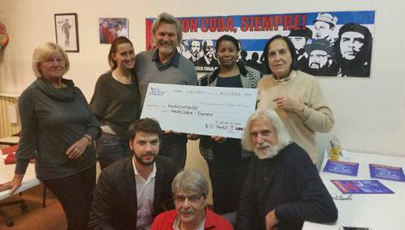 La Asociación Nacional de Amistad Italia-Cuba recaudó 11000 euros para niños cubanos enfermos de cáncer. Foto: rcm.cu