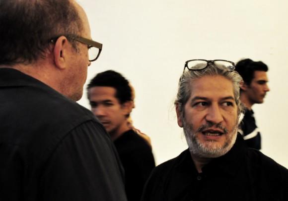 El artista cubano Carlos Garaicoa. Foto. Roberto Garaicoa Martínez.