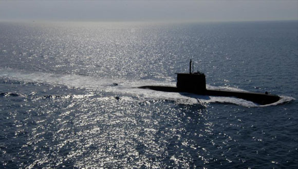 Submarino turco Type 209, fabricado en Alemania. (Foto: Archivo)