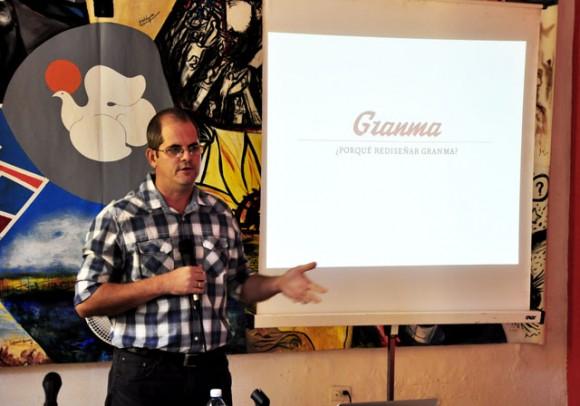 Ernesto Niebla, Director del Grupo Creativo. Foto: Roberto Garaicoa Martínez/ Cubadebate