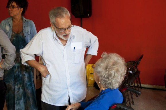 El escritor Eduardo Bosch. Foto: Roberto Garaicoa Martinez/ Cubadebate