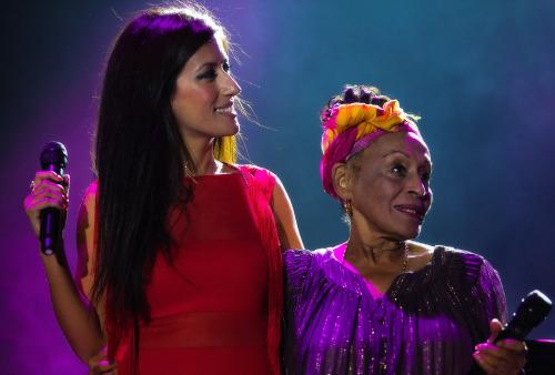 Ana Moura y Omara Portuondo