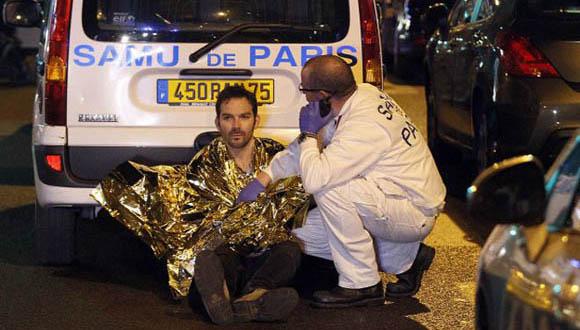 Atentado en Paris deja al menos 129 muertos. Foto: Getty Images