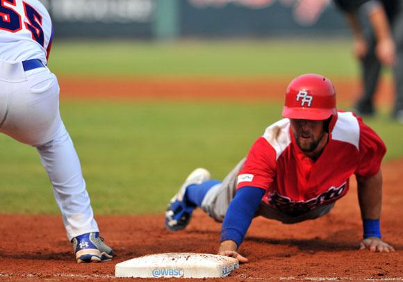 Cuba y Puerto Rico fueron a extra innings. Foto: Ricardo López Hevia