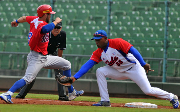 Cuba vs. Puerto Rico. Foto: Ricardo López Hevia.