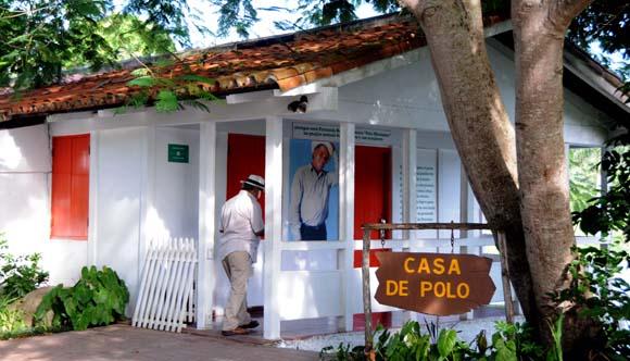 """Casa-museo Polo Montañez, ubicada en el complejo """"Las Terrazas"""", en la provincia de Artemisa. Foto: Omara García Mederos/AIN."""
